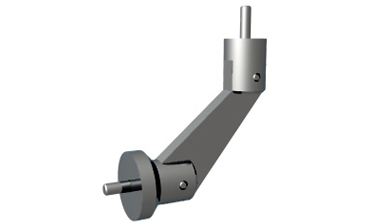 Virtu - Flanged wall mounted handrail bracket